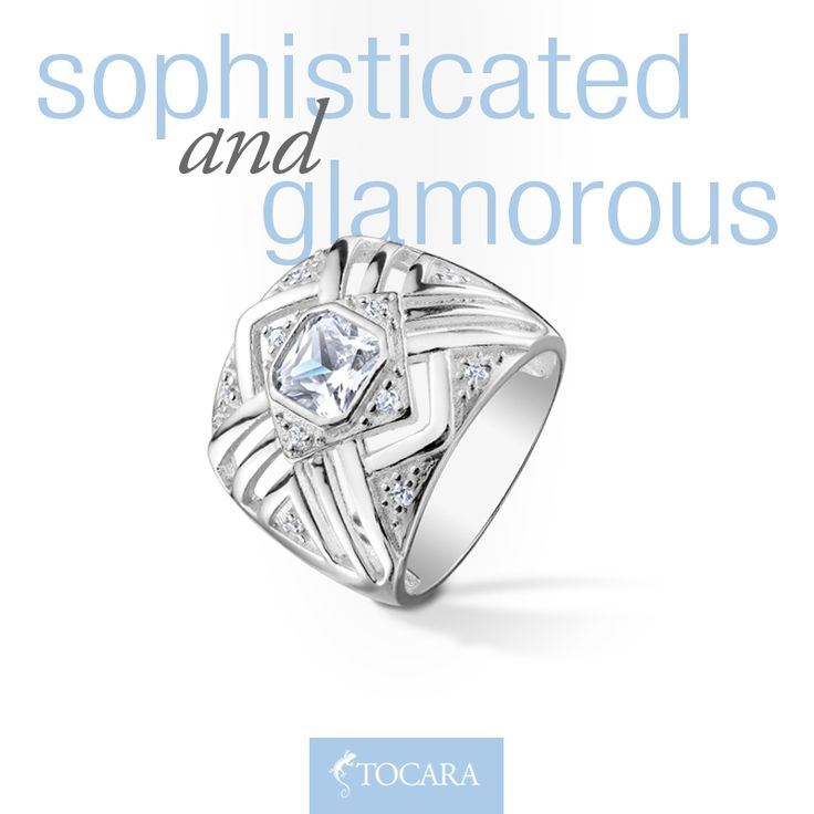Spice up your look with some sophistication and glamour! www.tocaraplus.com/afinishingtouch