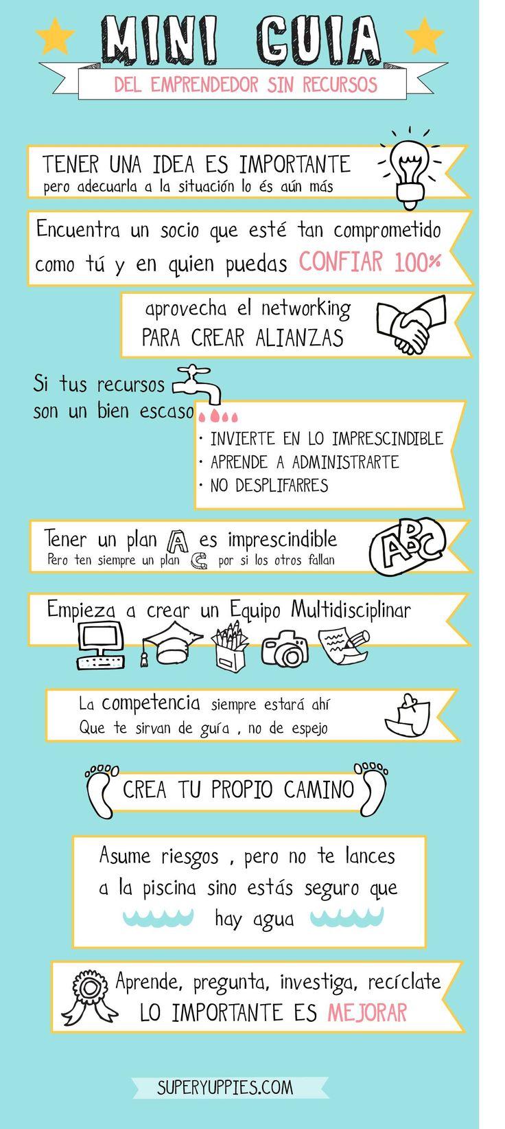 Guía para #emprender y recuerda que en @promalaga te ayudamos a convertir tu idea en realidad