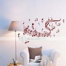 habitaciones decoradas con vinilos de notas musicales - Buscar con Google