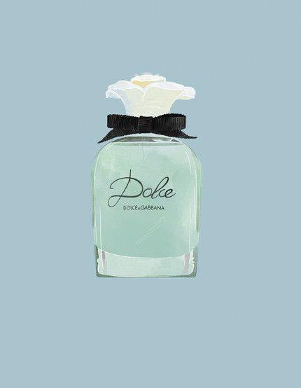 Babeth Lafon - Illustration for Marie Claire France Tiphaine-illustration #parfum #dolce #marieclairefrance