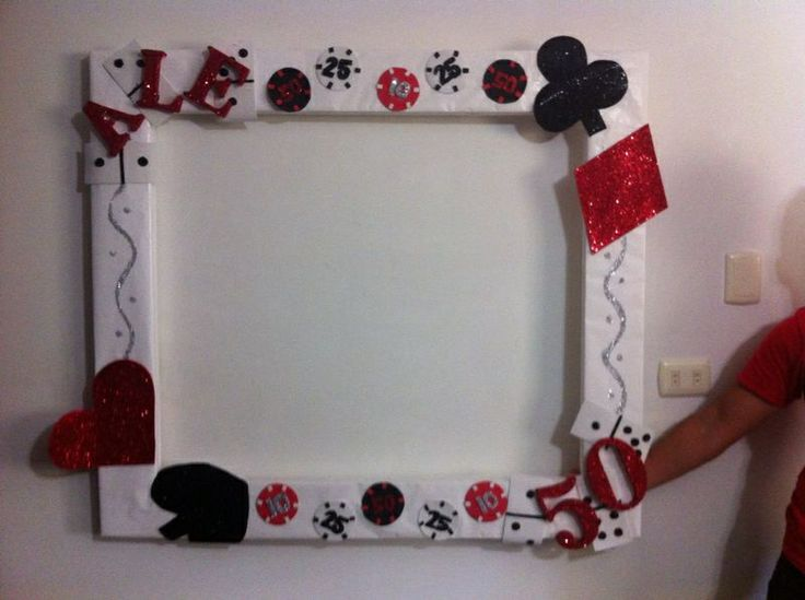 Casino Party Frame For Photoboom Parties Pinterest