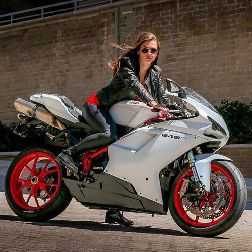 "motorcycles-and-more: ""Ducati 848 Panigale""  ★ * Via: Fat bottom girls ★ You make the rockin' world go round"