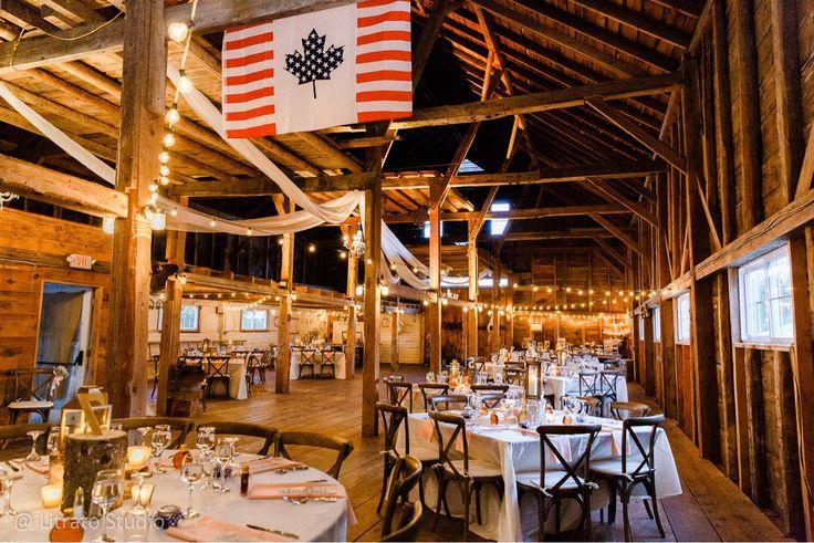 Wedding reception setup.  Barn wedding.  Sweetheart table.  Bride & Groom Table  Nicole & Chris Wedding Chandler House, New Gloucester, Maine  Maine Wedding Photographer www.litratostudio.net  #wedding #mainewedding #barnwedding