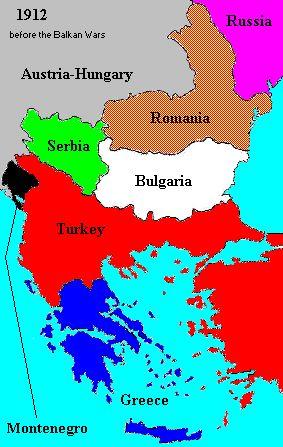 1912 – Balkan League declares war on Turkey (first Balkan war ...