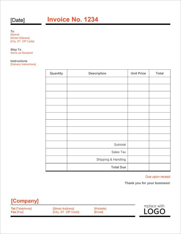 32 Free Invoice Templates In Microsoft Excel And Docx Formats Invoice Template Receipt Template Templates