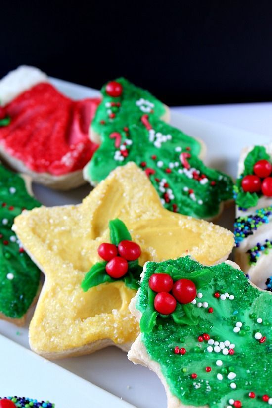 Christmas Sugar Cookies Holiday Meals, Appetizers and Deserts in