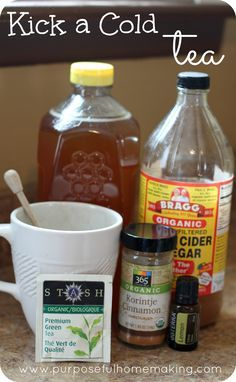 Kick a Cold Tea--all natural remedy to help with colds and flu