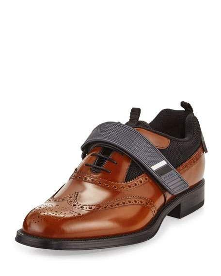 Prada brogues Shoes for Men   Prada Shoes & Sneakers for Men at Neiman Marcus