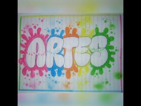 como marcar los cuadernos ( area de artes) - YouTube