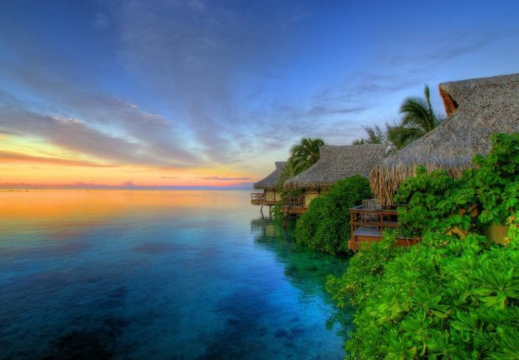 Moorea IslandFrenchpolynesia, Sunsets, Beautiful Places, French Polynesia, Best Quality, Islands, Desktop Wallpapers, Ocean Photography, Hot Summer