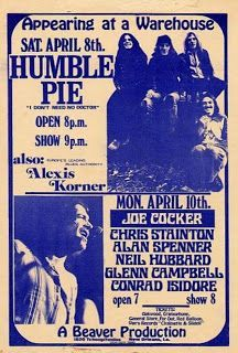 Humble Pie + Joe Cocker at a Warehouse, New Orleans