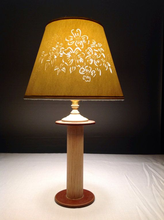 Hand Made Cut Pierced Lampshade By Shadeabovetherest On