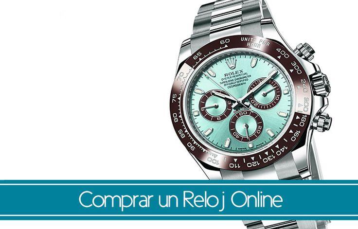 Tips y consejos para comprar un reloj online