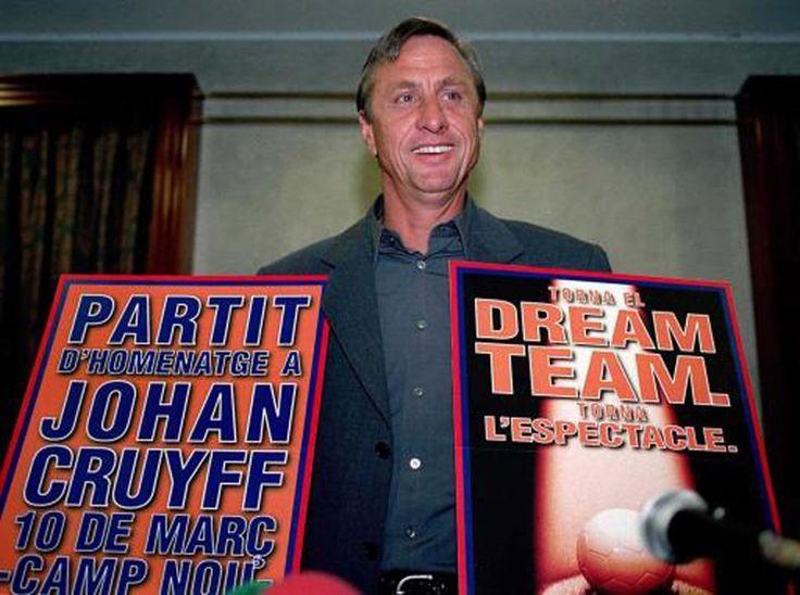 O génio holandês: a vida de Cruyff em imagens