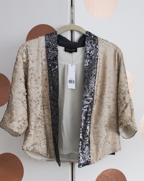 Sequin Jacket Blazer