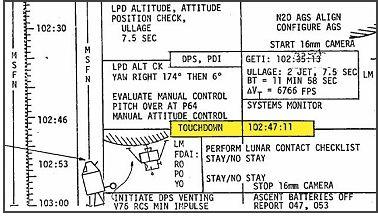 nasa apollo flight plan - photo #7