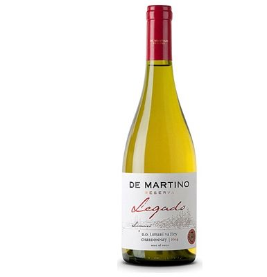 De Martino Quebrada De Martino Legado Chardonnay A lovely, bold Chilean Chardonnay with notes of toasted almonds, a washed with lemon and lime flavours (Barcode EAN=7804395000323) http://www.MightGet.com/january-2017-13/de-martino-quebrada-de-martino-legado-chardonnay.asp
