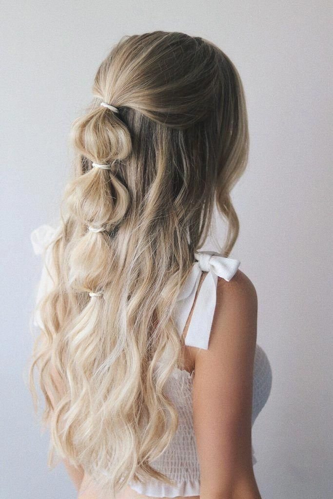 Festival season is officially upon us and I'm so excited to share these easy festival hairstyles with you guys. I wanted to create different hairstyles to fit everyone's style so there's the edgy side dutch braid, the girly bubble braid, and the bohemian inspired stacked braid.