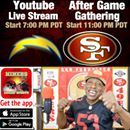 Last game we can watch in a relaxed state! 😂Well you can!  I never watch the #49ers in civilized fashion😂😂😂 Not even the annual Chargers game! Eh! I want Kendrick Bourne Raheem Mostert, and William Bolden Jr to make the cuts. Can we keep all 3? Think positive thoughts for my dudes! I'll see you in just a bit, both during the game and after!