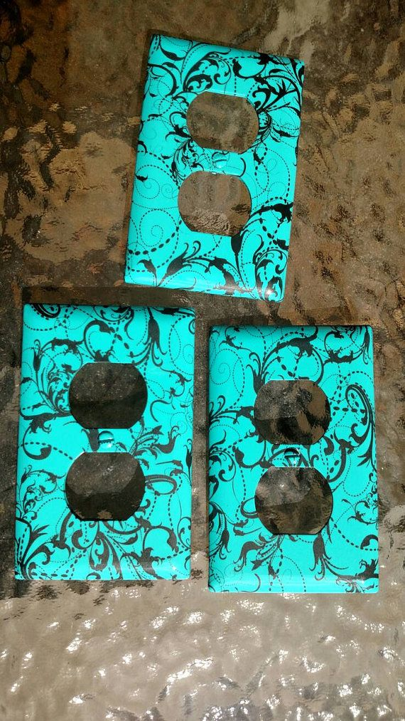 Hey, I found this really awesome Etsy listing at https://www.etsy.com/listing/490312243/hydrodipped-paisley-aqua-outlet-covers