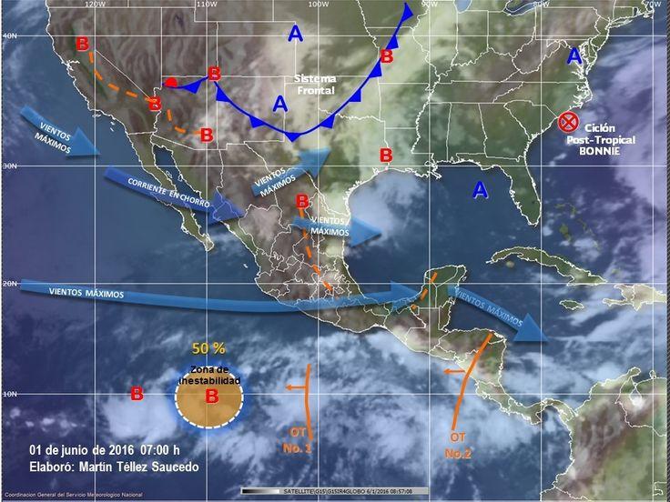SMN prevé lluvias, torbellinos o tornados para el norte de Chihuahua   El Puntero