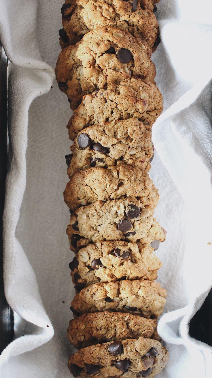 Delicious oatmeal cookies (gluten free, vegan)