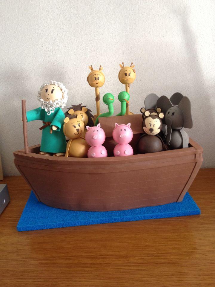 Arca de Noé em EVA