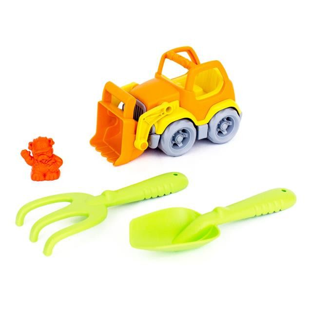 Green Toys: Sand & Water Play - Scooper with Rake and Shovel