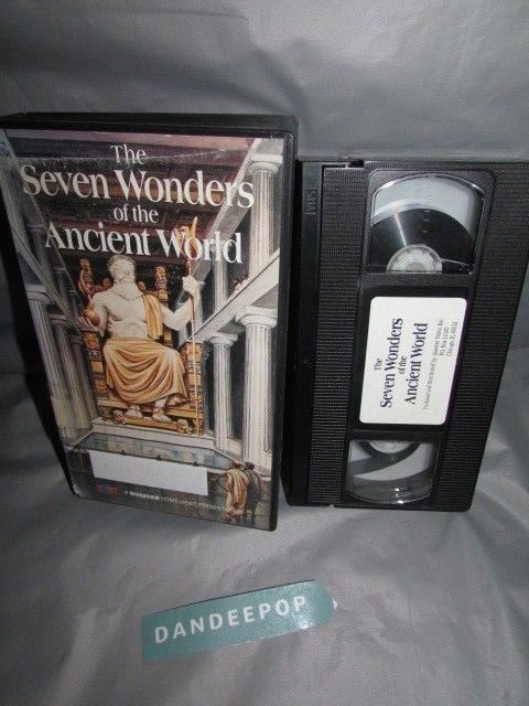 The Seven Wonders Of The Ancient World Educational VHS Movie #thesevenwondersoftheancientworld #vhs #educational #movie #dandeepop Find me at dandeepop.com