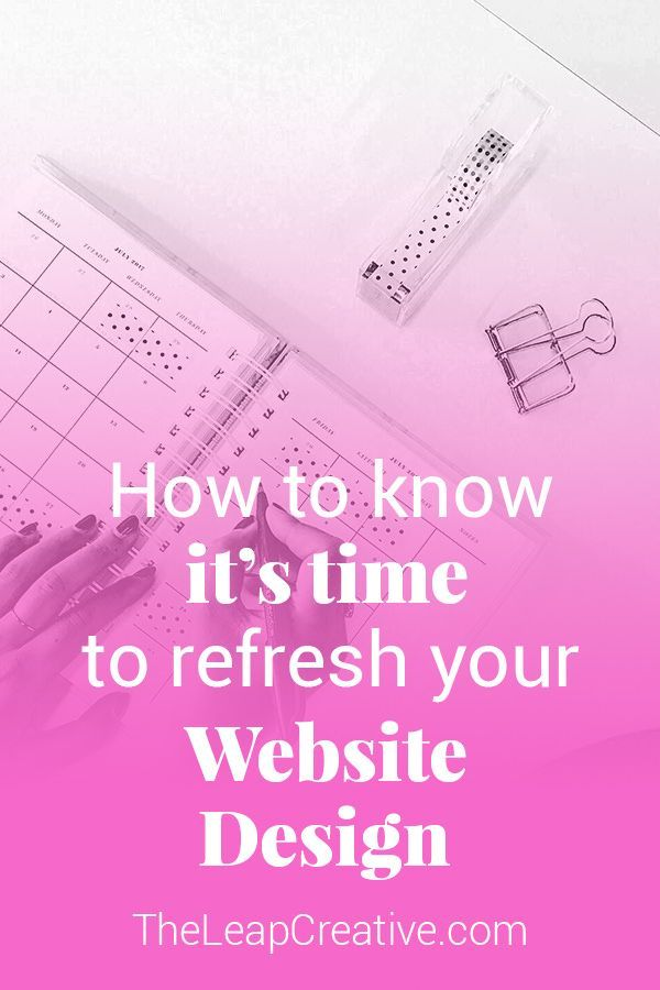 If you�re a savvy online business owner you�ve already learned that it�s a waste of time to chase all the trends.  So how do you know when it�s time to update your website so you don�t send your hard earned web traffic screaming for the hills in 2 seconds