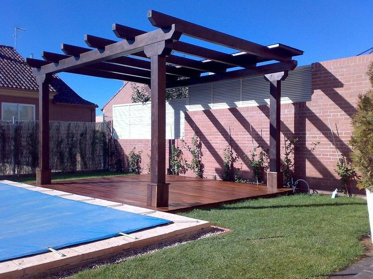 45 best images about pergolas on pinterest patio decks - Tipos de pergolas ...