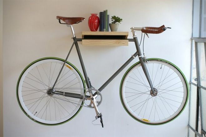 Best 25 indoor bike storage ideas on pinterest bicycle Bicycle bookshelf