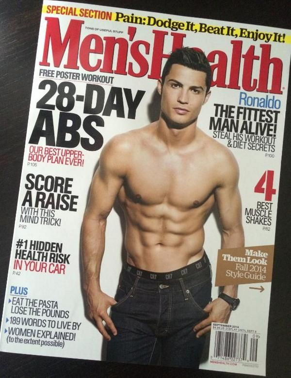 Cristiano Ronaldo named 'Fittest Man Alive' by Men's Health magazine
