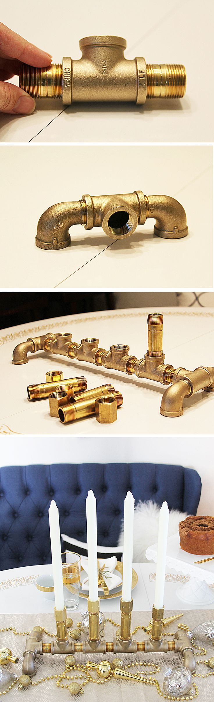 Best brass pipe ideas on pinterest shelving