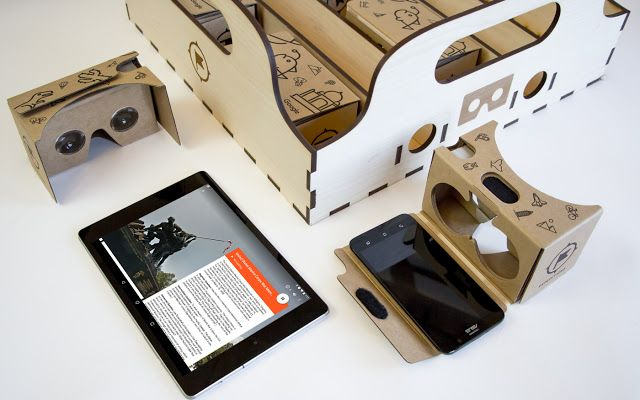 Cardboard, Google expeditions