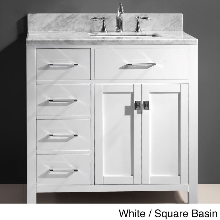 A Perfectly Organised Bathroom In One Day: 25+ Best Ideas About Single Sink Vanity On Pinterest