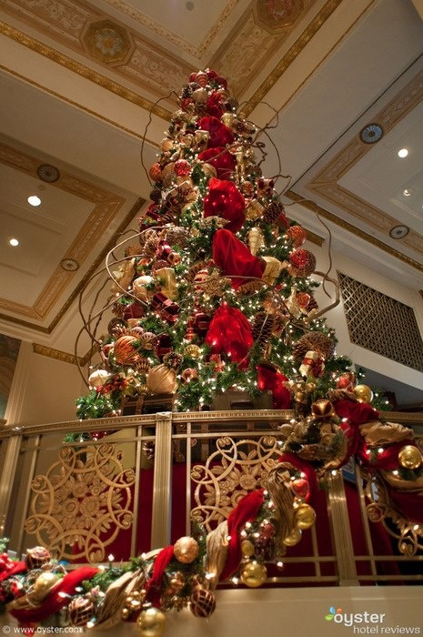 New York hotels deck their halls for Christmas | Christmas ...
