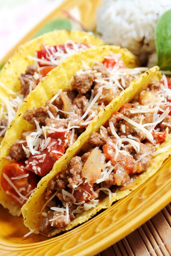 Ranch Style Tacos Serve This Tex Mex Ranch Style Taco Filling Made With Ground Beef And Ranch Beans In Crispy Ta Taco Dinner Ranch Style Beans Recipe Recipes