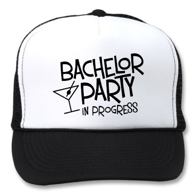 Bachelor Party in Progress Mesh Hat
