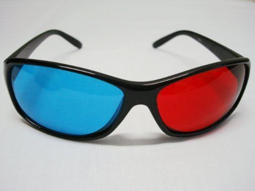 Red-blue / Cyan Anaglyph Simple style 3D Glasses 3D movie game-Extra Upgrade Style 3D http://www.amazon.com/dp/B003LWYGPE/ref=cm_sw_r_pi_dp_yTiiub1N6XPAA