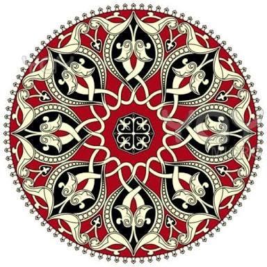 circle pattern medieval ile ilgili görsel sonucu