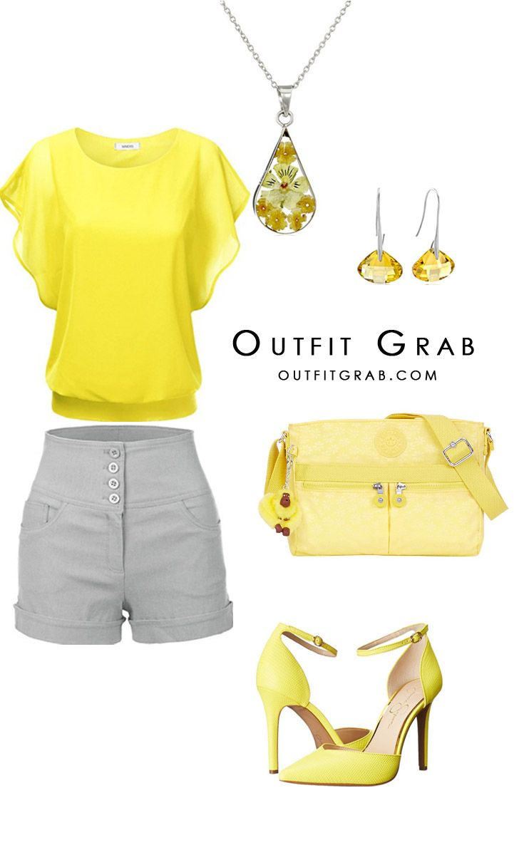 25+ best ideas about Yellow top outfits on Pinterest | Yellow work dresses Yellow blouse and ...