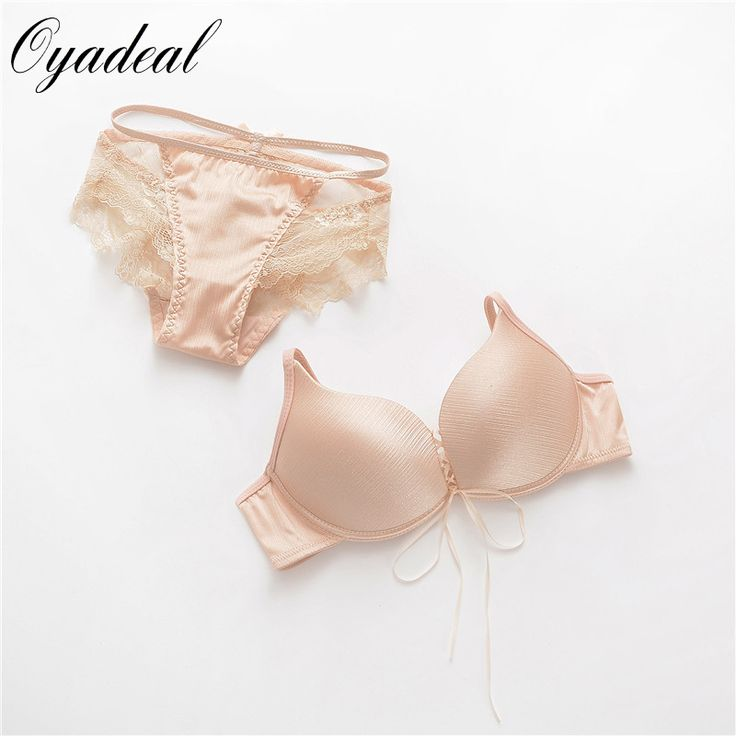 new 2016 bra push up and comfortable Lovely sweet girl underwear set suits women Imitation cowboy material sexy bra set