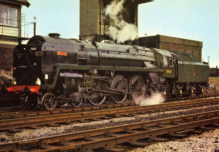70015 Apollo, good colour picture, Britannia class locomotive