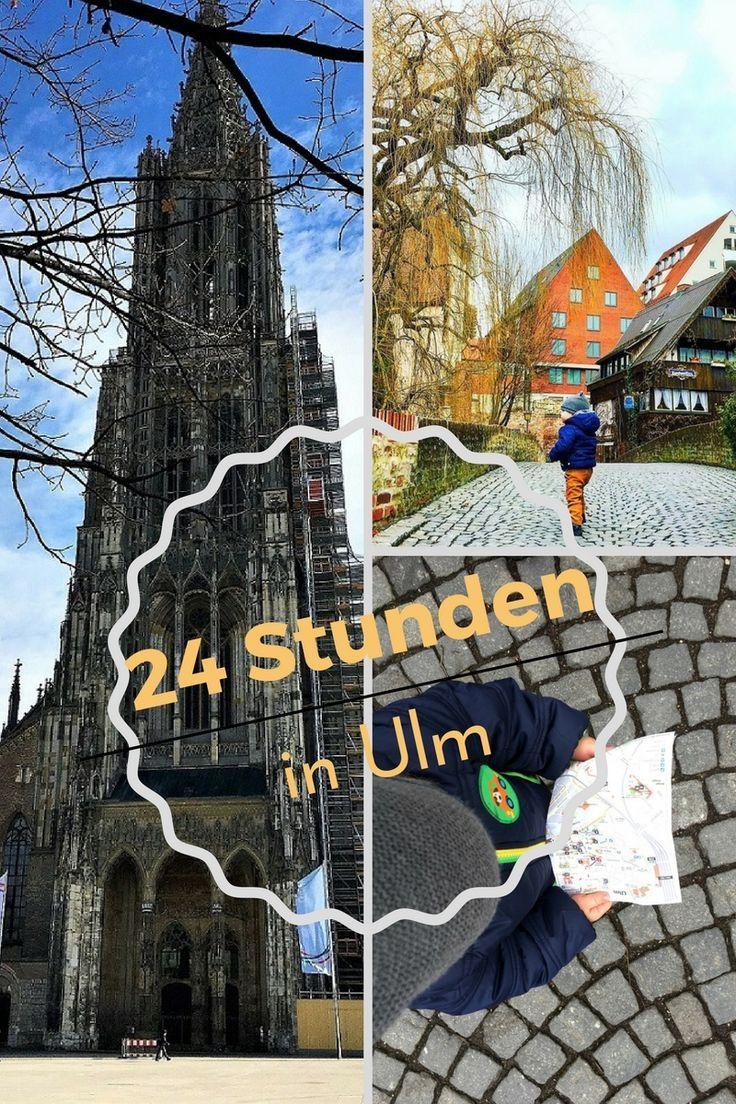 In Ulm, um Ulm und um Ulm herum! Ulm hat viel mehr zu bieten als nur das Ulmer Münster. Wir haben 24 Stunden in der Stadt verbracht und eine tolle Altstadt entdeckt. Die Stadt an der Donau lädt auch Familien ein hier ein aufregendes Wochenende zu verbringen.