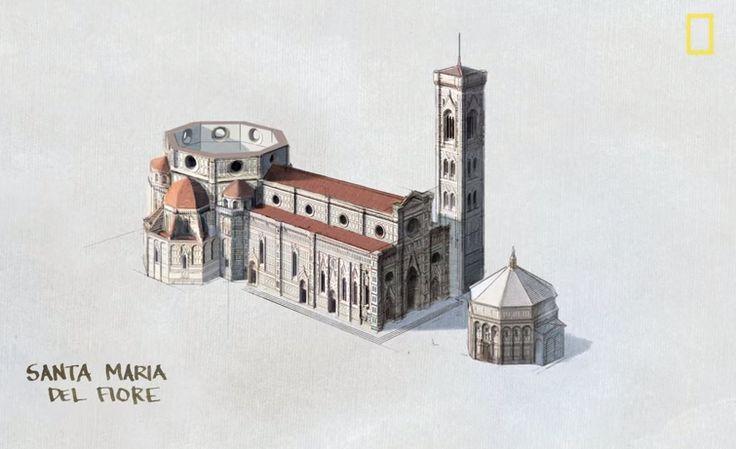 ¿Cómo construyó Brunelleschi la cúpula del Duomo de Florencia?