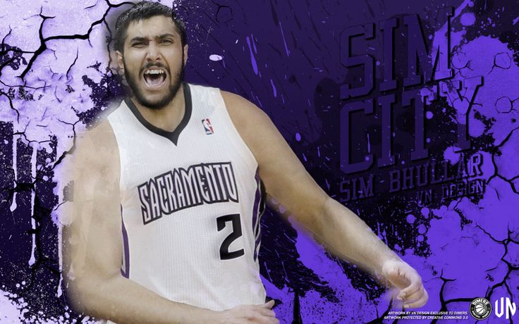 Widescreen wallpaper of Sim Bhullar, the first player of Indian descent to sign contract with some NBA team... Full size can be downloaded at - http://www.basketwallpapers.com/Canada/Sim-Bhullar/