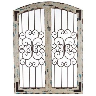27 best Arched Window Wall Decor images on Pinterest ... on Hobby Lobby Outdoor Wall Decor Metal id=14609