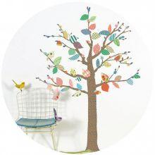 Αυτοκόλλητο+τοίχου+'Δέντρο+με+πολύχρωμα+φύλλα'