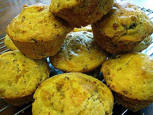 Cheesy Sausage Corn Muffins | Recipes | Pinterest | Sausages, Muffins ...